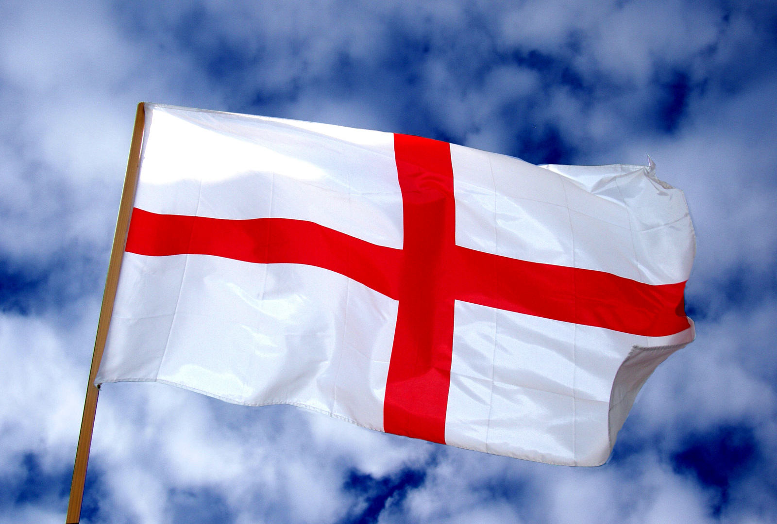 st georges day  - flag