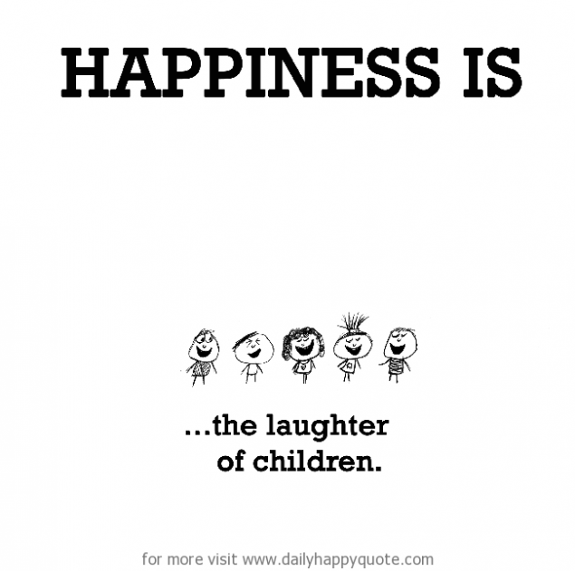 happiness-is-the-laughter-of-children